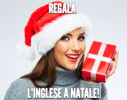REGALA L'INGLESE A NATALE